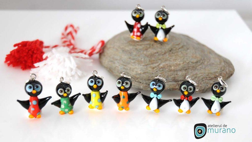 martisoare murano pinguini