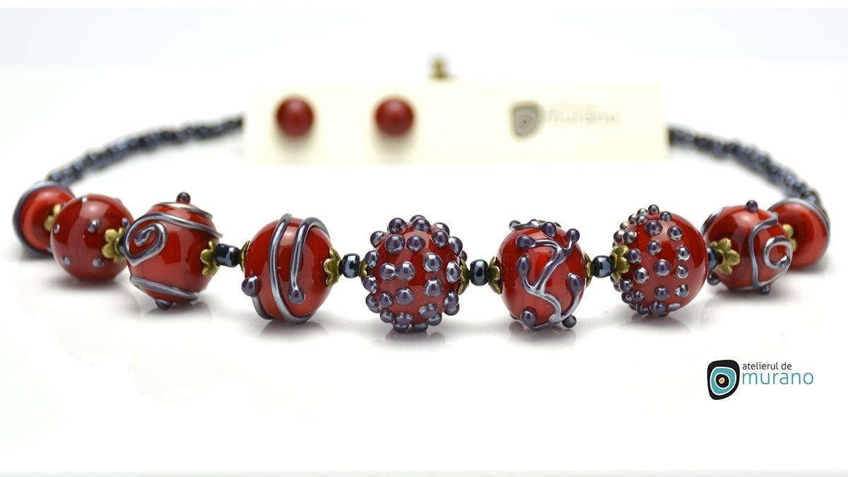 bijuterie murano colier