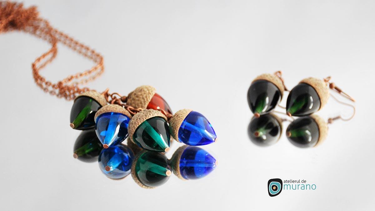 bijuterii murano colier ghinde