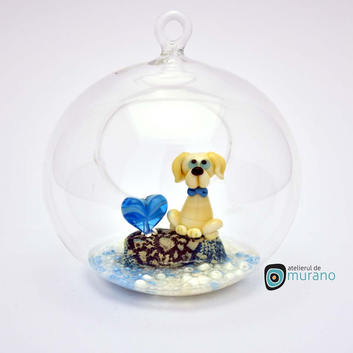 glob-sticla-murano-cu-catelus-14