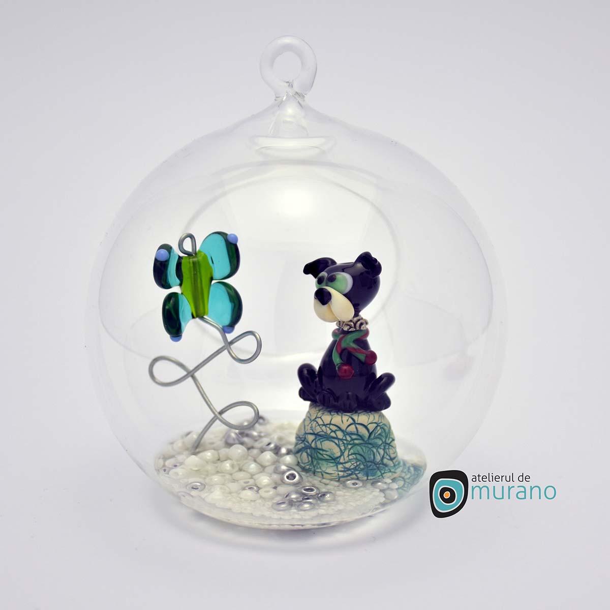 glob-sticla-murano-cu-catelus-6
