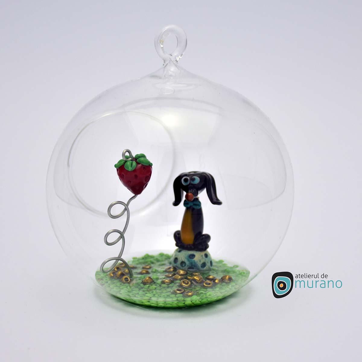glob-sticla-murano-cu-catelus-8