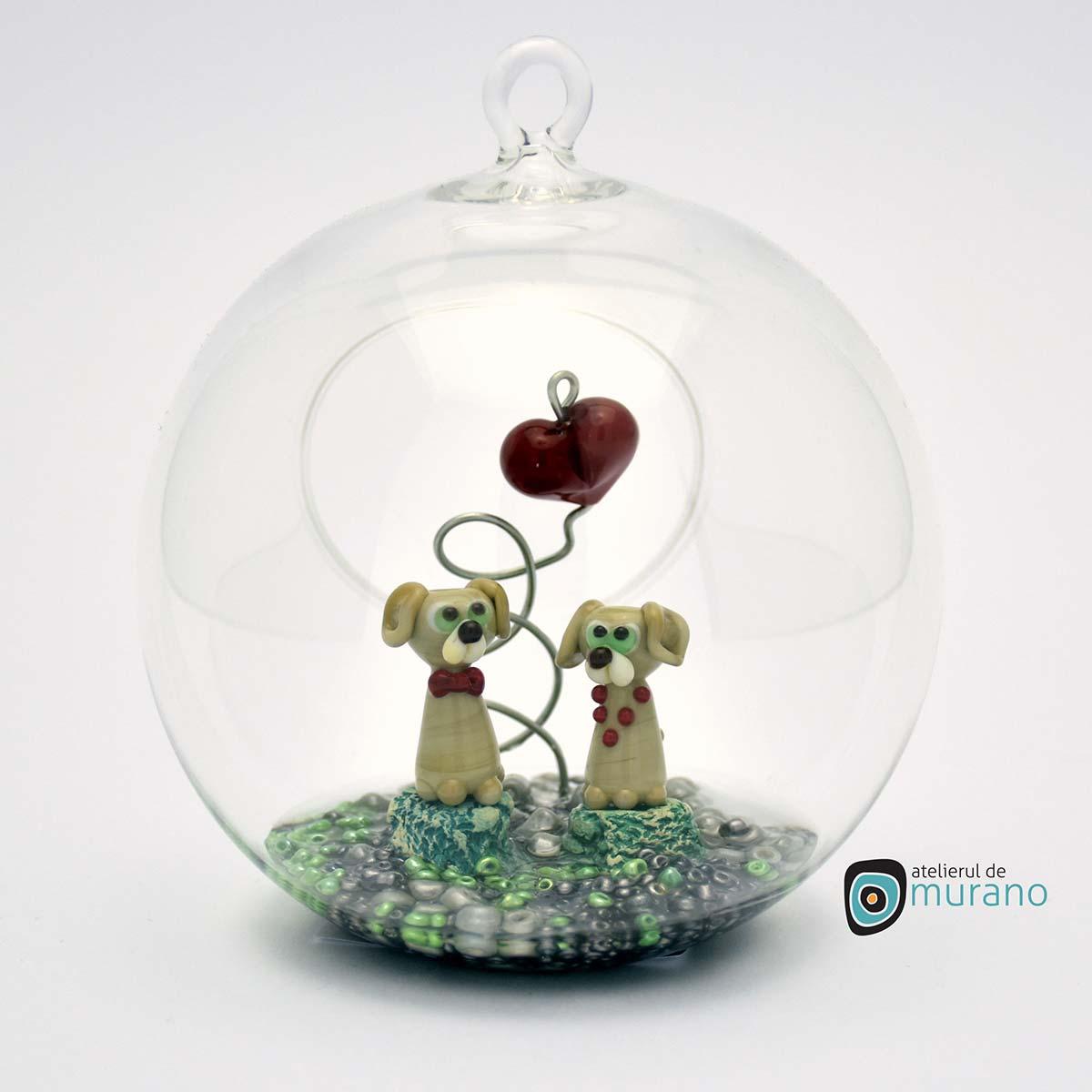 glob-sticla-murano-cu-catelusi-11