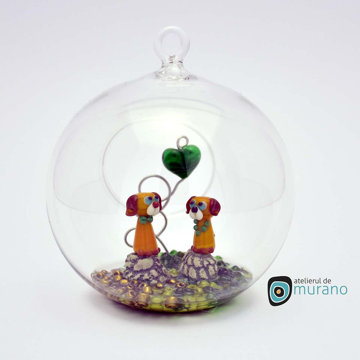 glob-sticla-murano-cu-catelusi-6