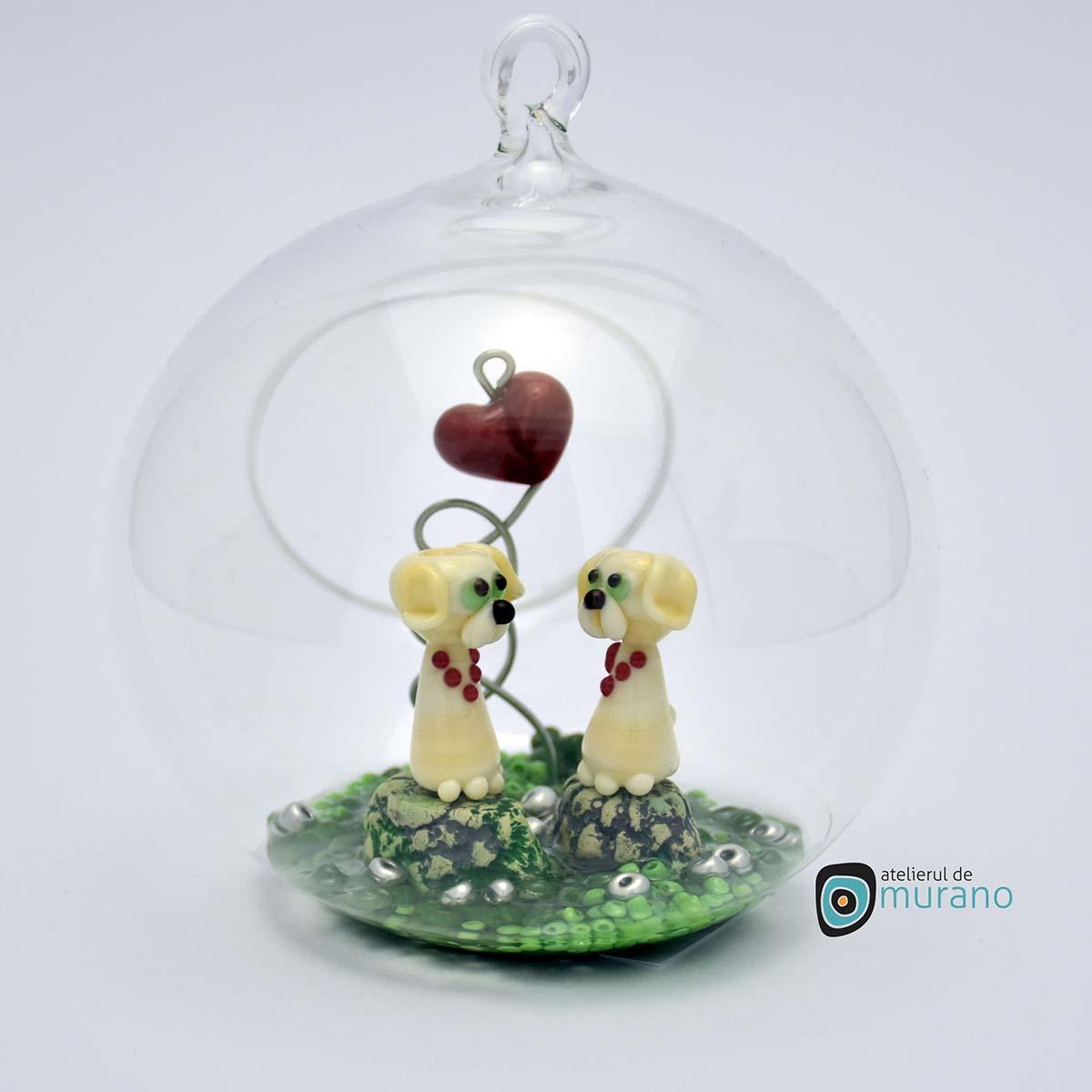 glob-sticla-murano-cu-catelusi-8