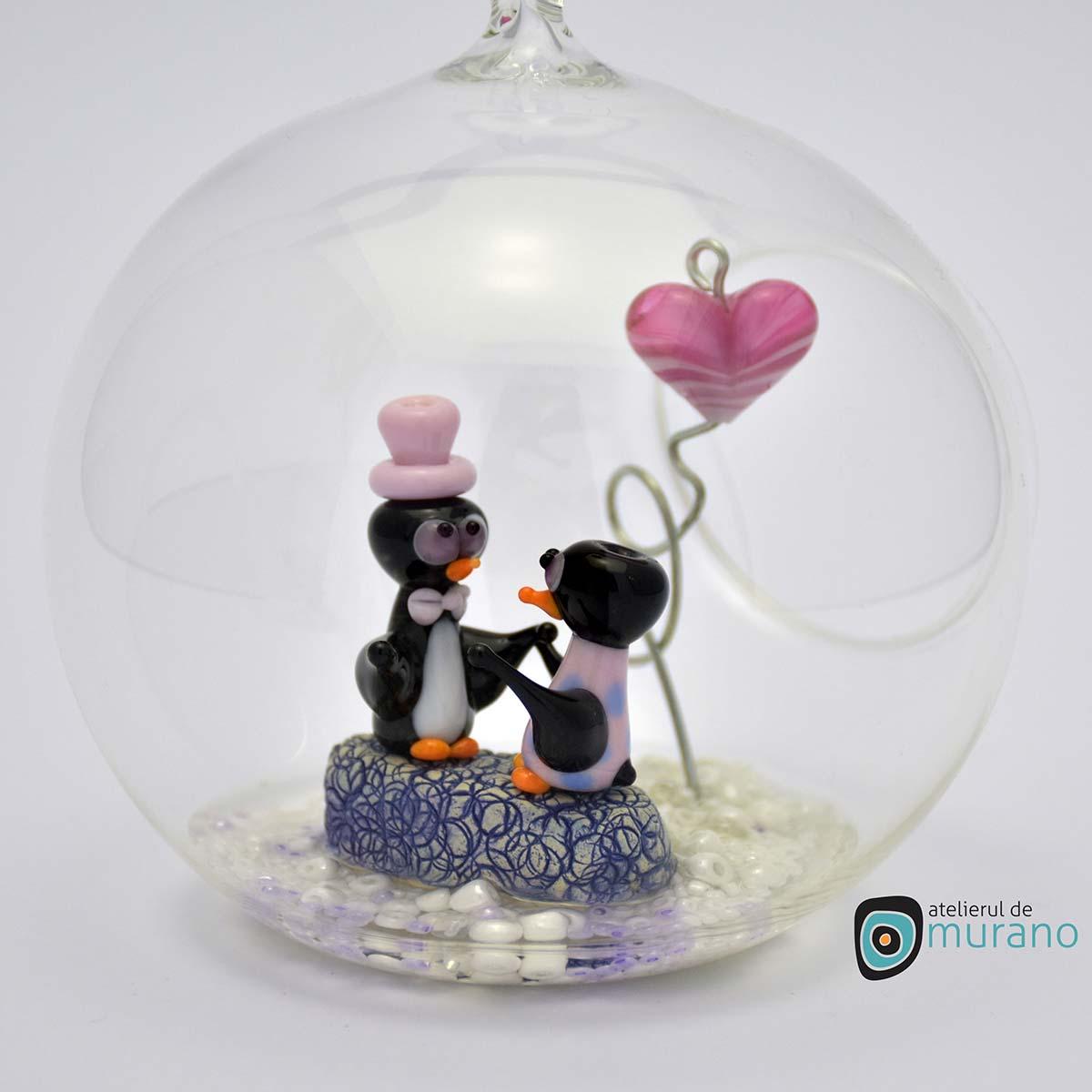 glob-sticla-murano-cu-pinguini-11