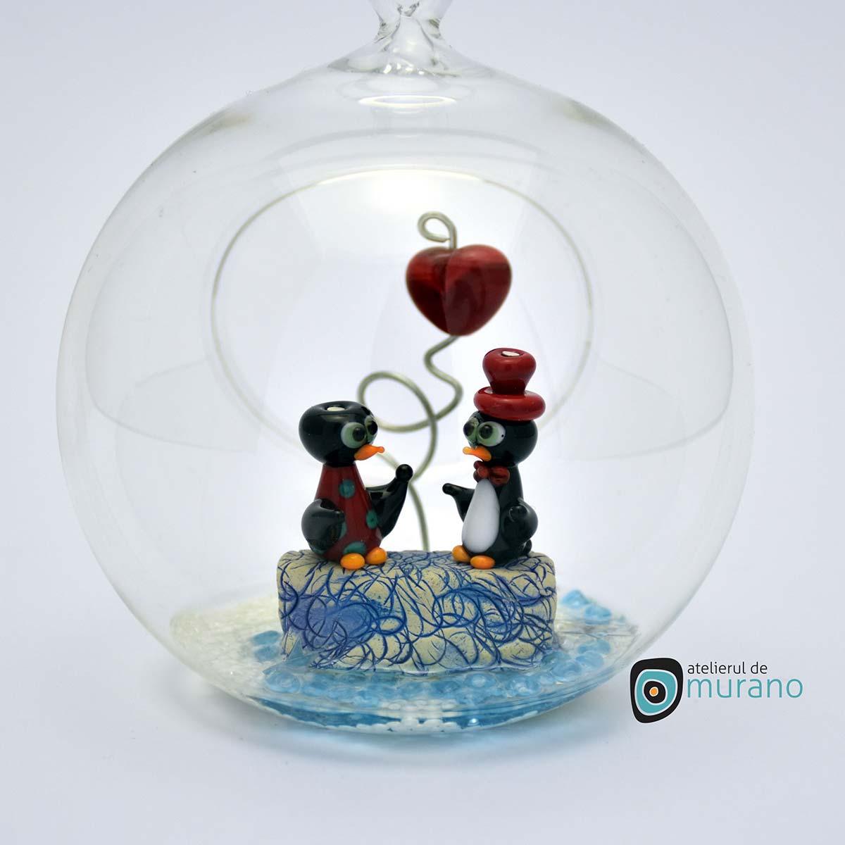 glob-sticla-murano-cu-pinguini-12