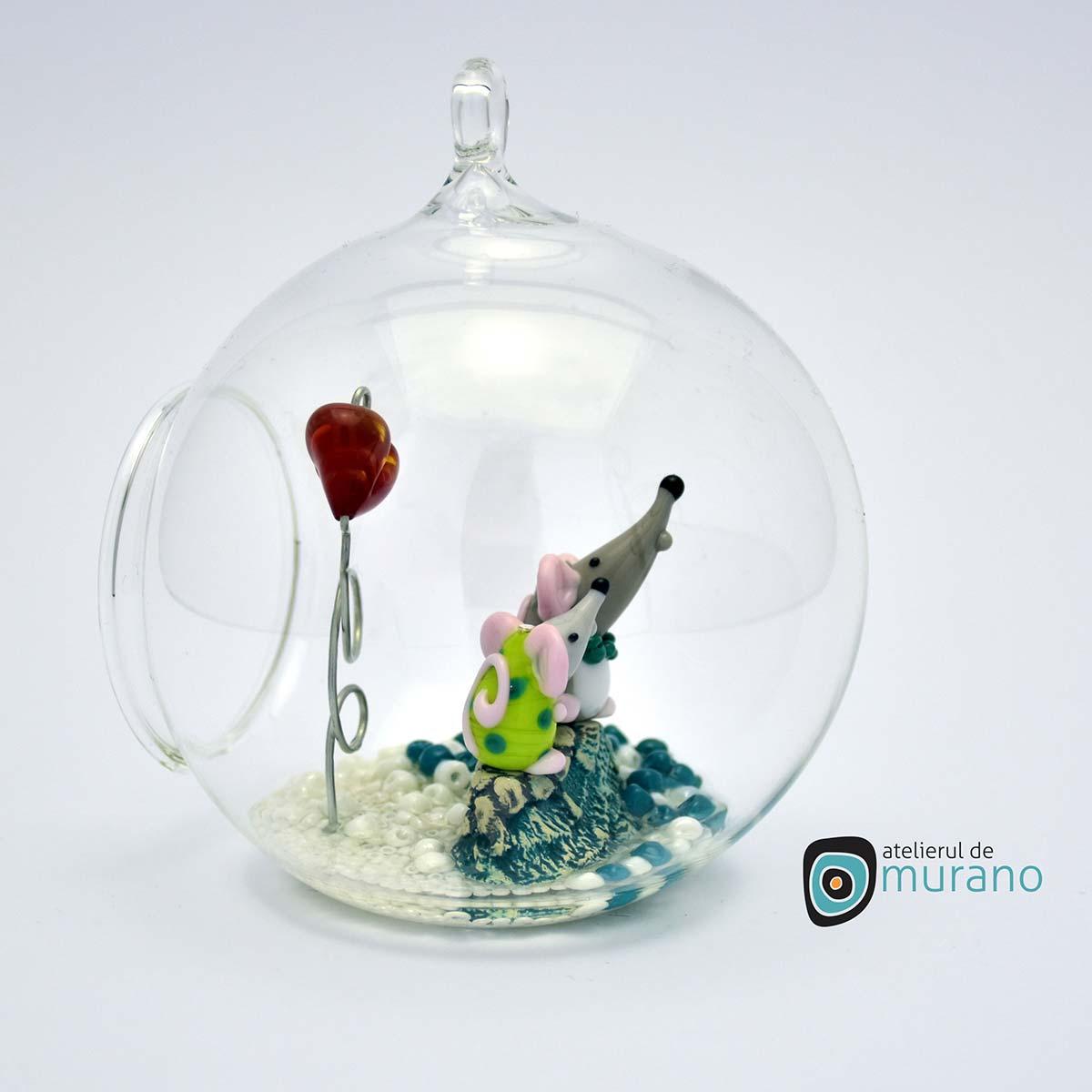 glob-sticla-murano-cu-soricei-10