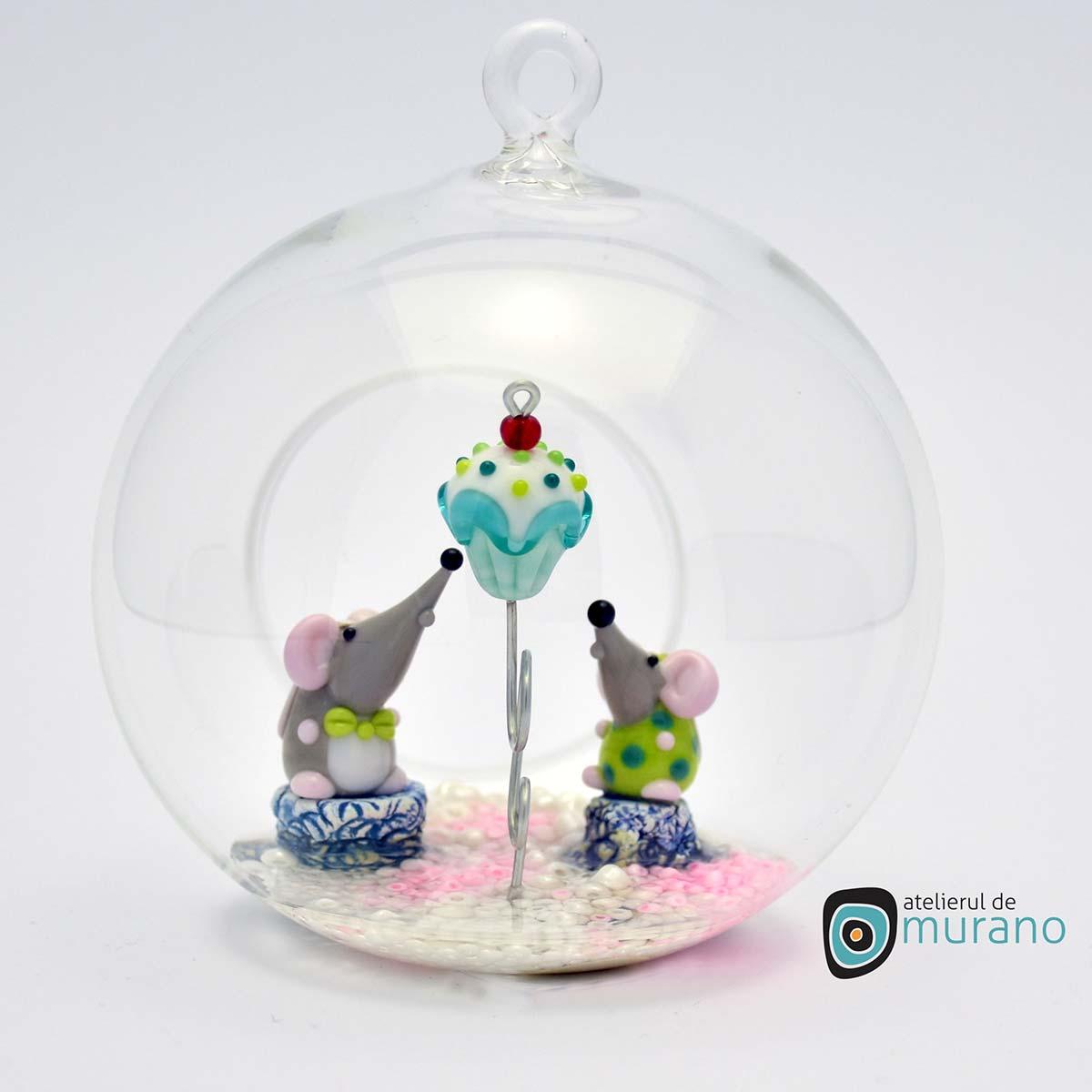 glob-sticla-murano-cu-soricei-12
