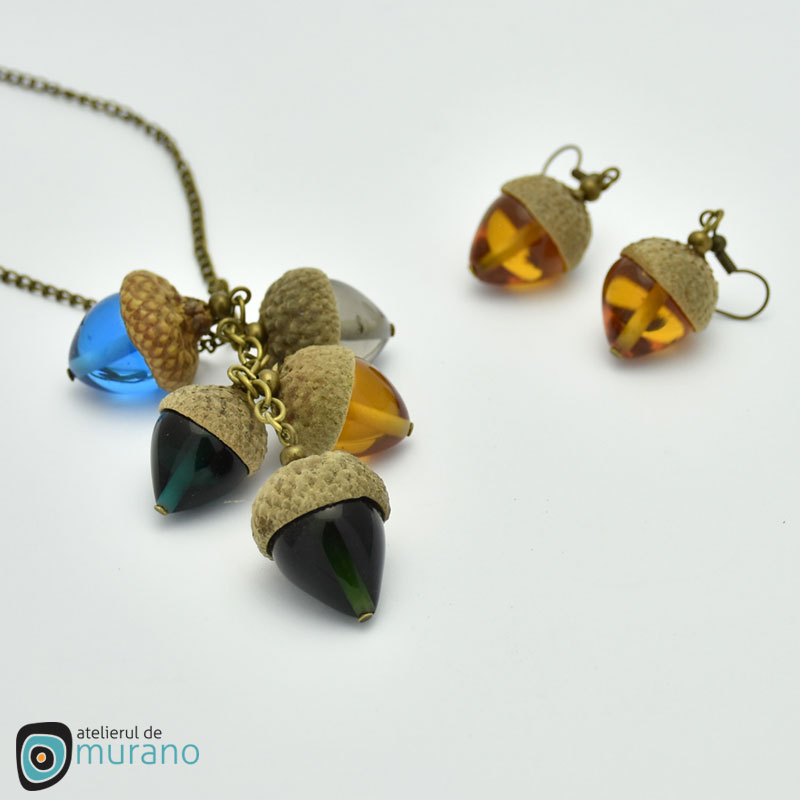 set murano ghinde miere