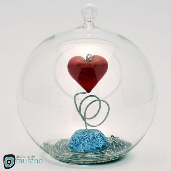 Glob de Crăciun cu inimă
