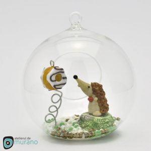 Glob de Crăciun cu Arici