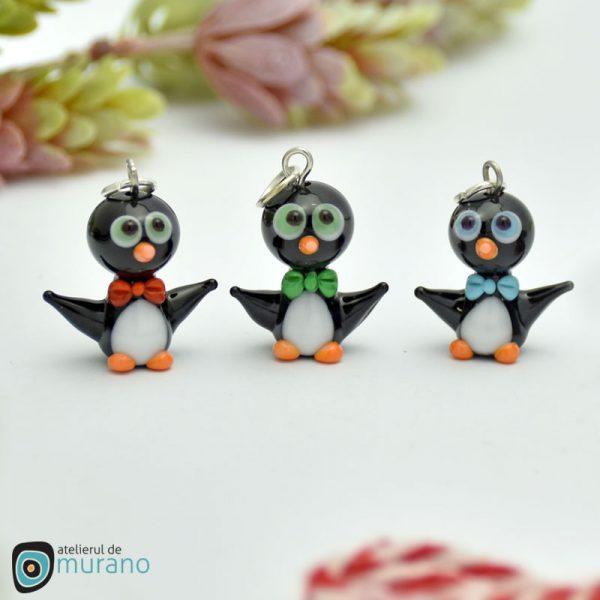 martisoare murano pinguini papion