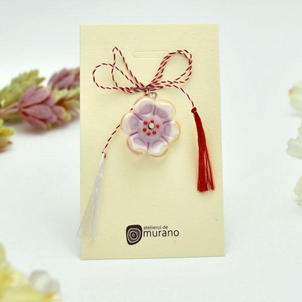 martisor murano floare de cires