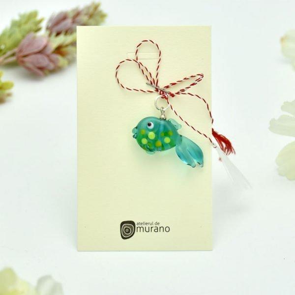 martisor murano pestisor verde